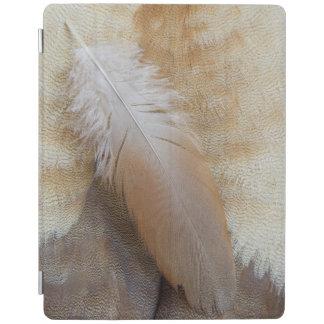 De Brown d'oie de plume toujours la vie Protection iPad