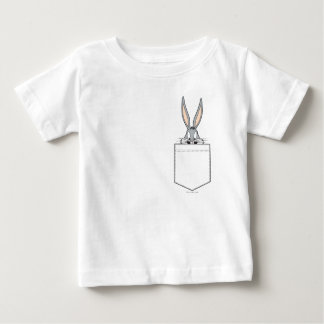 ™ de BUGS BUNNY jetant un coup d'oeil hors de la T-shirt Pour Bébé