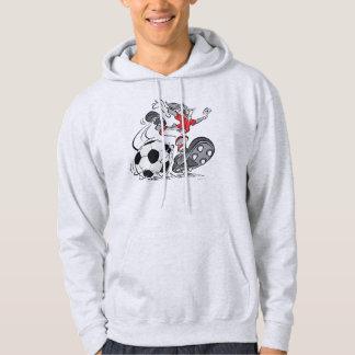 ™ de BUGS BUNNY jouant au football Veste À Capuche