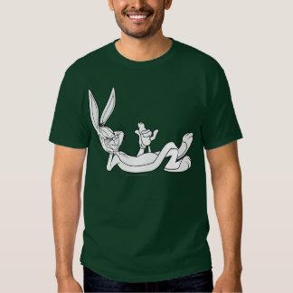 ™ de BUGS BUNNY mangeant la carotte 2 T-shirts