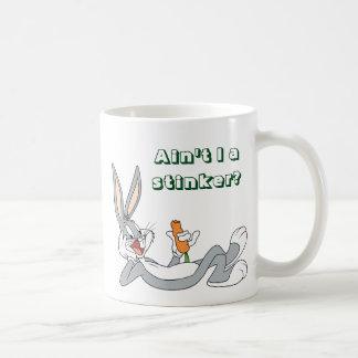 ™ de BUGS BUNNY se trouvant vers le bas mangeant Mug