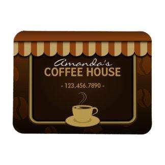De café-restaurant de café petit Flexi magnet fait