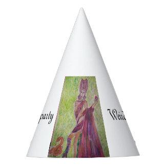 De casquette de partie de costume le plus étrange chapeaux de fètes