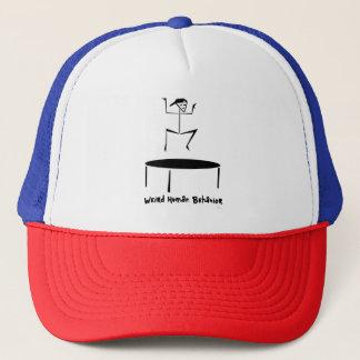 De casquette étrange de camionneur de trempoline