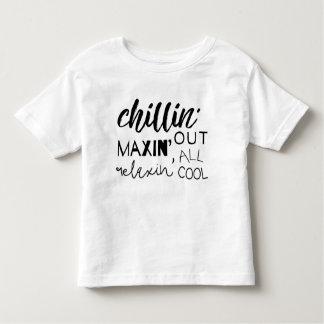 De Chillin T-shirt d'enfant en bas âge