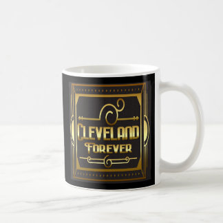 De Cleveland tasse de café vintage de style pour
