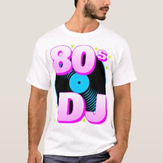 De Corey rétro 80s DJ T-shirt du tigre 80s