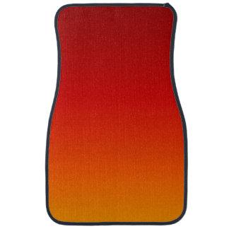 ~ de COUCHER DU SOLEIL (la couleur jaune-orange de Tapis De Sol