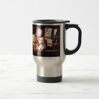 De courrier toujours la vie 1699 mug de voyage en acier inoxydable