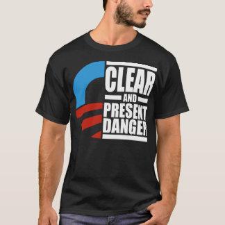 De danger clair d'Obama chemise et actuel T-shirt