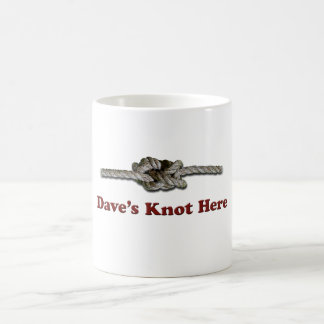 De Dave du noeud SHORT ici - Multi-Produits Mug