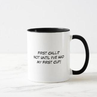 De directeur des pompes funèbres tasse de café