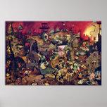 De Dulle Griet (le Grete terrible) par Bruegel D. Affiche