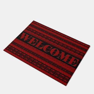De flèche tapis de porte noir rouge en ligne