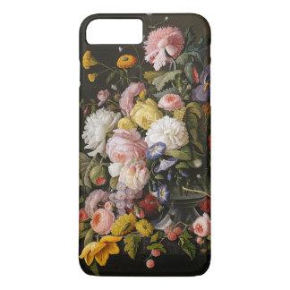 De fleurs toujours peinture baroque colorée chic coque iPhone 7 plus