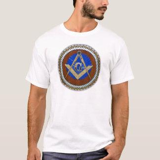 de franc-maçon carré et boussole de conspiration t-shirt