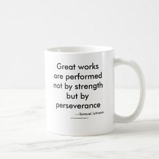 De grands travaux sont effectués pas par force mug