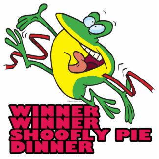 de grenouille de gagnant bande dessinée drôle de d photo en relief