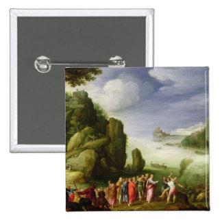 De guérison du Christ possédé de Gerasa, 1608 Badges