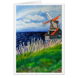 De Kat Windmill : La Hollande Cartes