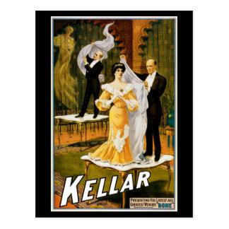 """~ de Kellar """"allé """" Carte Postale"""