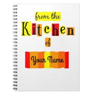 De la cuisine du carnet fait sur commande de