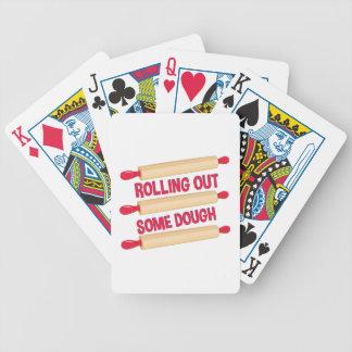 De la pâte jeu de cartes