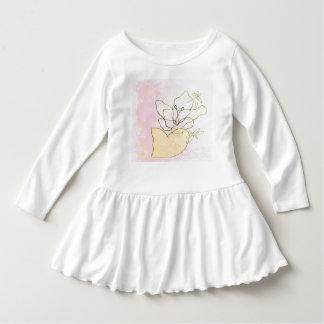 de libellule robe de fleur lilly