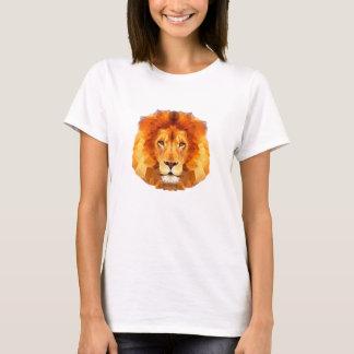 De lion le T-shirt de base des poly femmes de