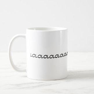De LOL de RIRE tasse bruyante