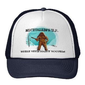 ~ de l'U.P. du Michigan où les yetis aperçoivent Casquette