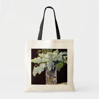De Manet toujours lilas de blanc de la vie Sac Fourre-tout