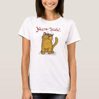 De Meow T-shirt de spaghetti de dames ouais -