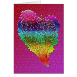 De mon coeur 2 carte de vœux