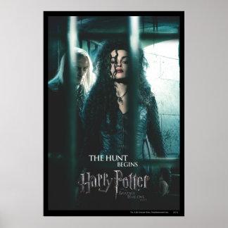 De mort sanctifie - Bellatrix et Lucius Affiche