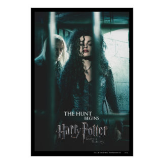 De mort sanctifie - Bellatrix et Lucius Poster