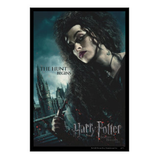 De mort sanctifie - Bellatrix Lestrange 2 Poster
