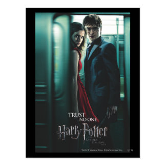 De mort sanctifie - Harry et Hermione Cartes Postales