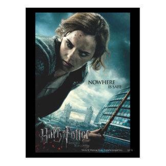 De mort sanctifie - Hermione 2 Cartes Postales