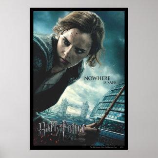 De mort sanctifie - Hermione 2 Posters