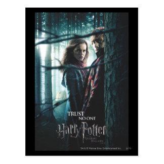 De mort sanctifie - Hermione et Ron Cartes Postales