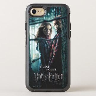 De mort sanctifie - Hermione et Ron Coque Otterbox Symmetry Pour iPhone 7