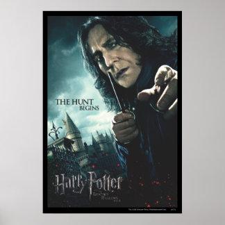 De mort sanctifie - Snape 2 Affiches