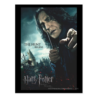 De mort sanctifie - Snape 2 Cartes Postales