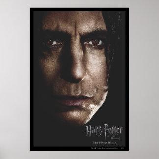 De mort sanctifie - Snape Poster