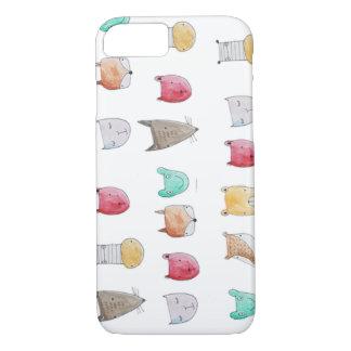 De motif couverture animale mignonne et fantaisie coque iPhone 7