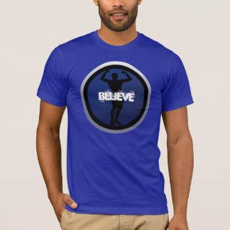 De motivation croyez le T-shirt