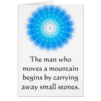 De motivation encouragez la citation inspirée cartes