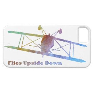 """De """"mouches biplan upside-down"""" étui iPhone 5"""