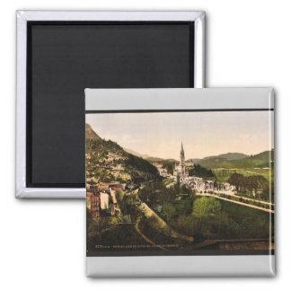 De Notre Dame De Lourdes, Lourdes, Pyrénées, ATF Magnet Carré